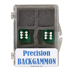 Backgammon Præcisionsterninger 12mm