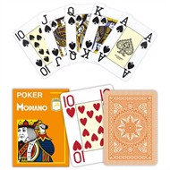 Modiano Poker Cristallo Orange, Jumbo
