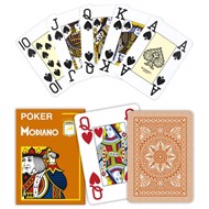 Modiano Poker Cristallo Brun, Jumbo