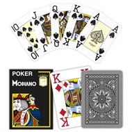 Modiano Poker Cristallo, Jumbo Index