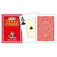 Modiano Texas Poker Hold'em - Rød