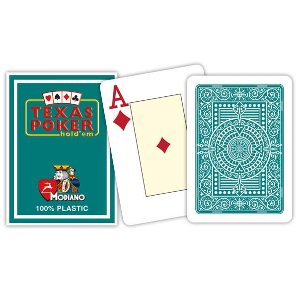 Modiano Texas Poker Hold\'em - Mørkegrøn