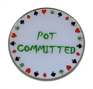 Pot Committed Poker Weight