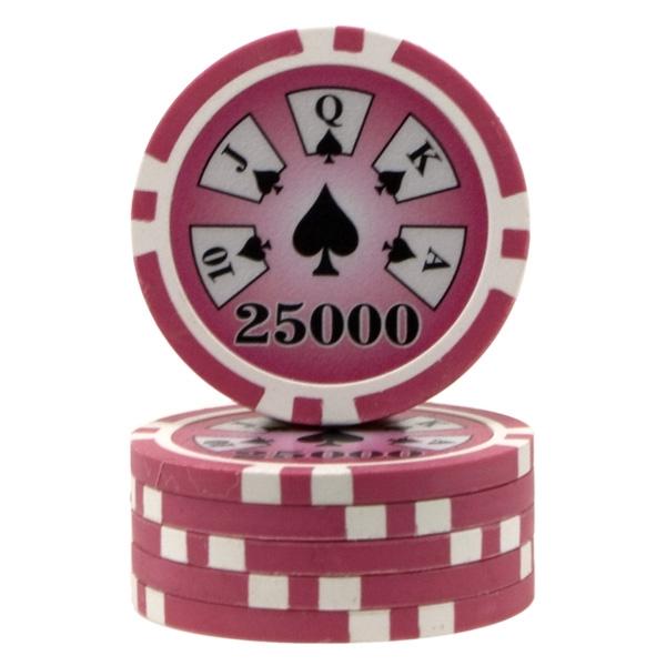 25000 poker chip