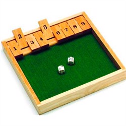 Shut The Box - 1 spiller
