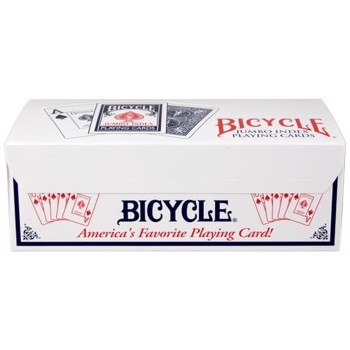 Bicycle Rider Back Jumbo (1 brick - 12 stk)