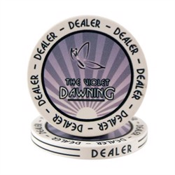 Dealer Button, The Violet Dawning