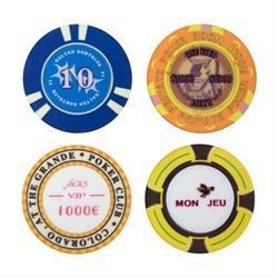 Personlige Hybrid Pokerchips