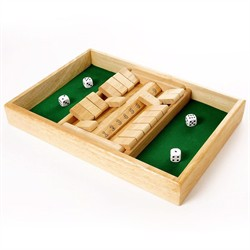 Shut The Box - 2 spillere