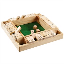 Shut The Box - 4 spillere