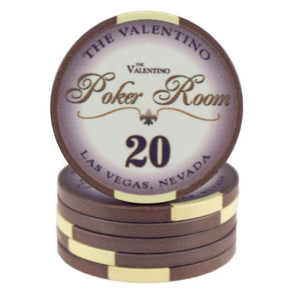 Valentino Poker Room Brun 20