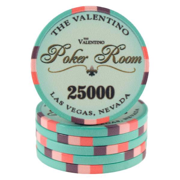 Valentino Poker Room Turkis 25000