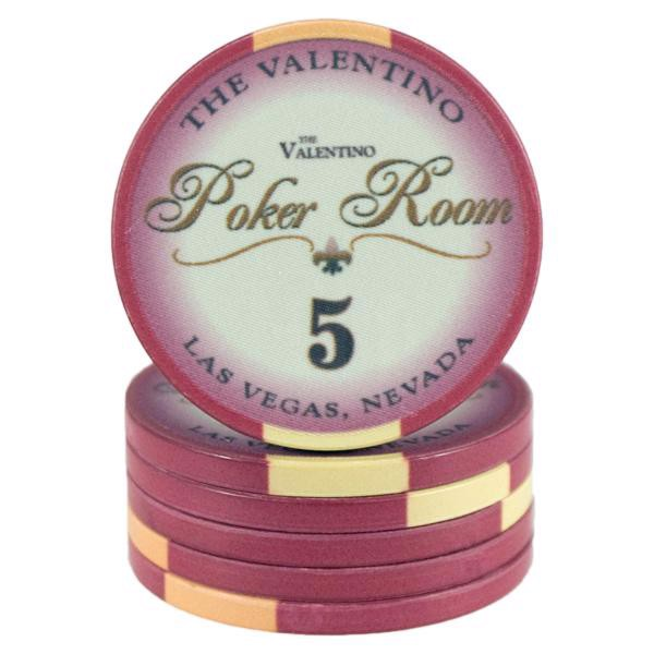 Valentino Poker Room Rød 5