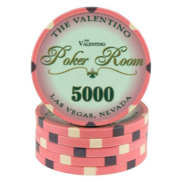 Valentino Poker Room Pink 5000