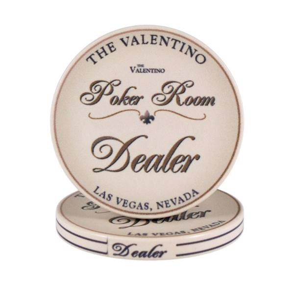Dealer Button, Valentino Poker Room